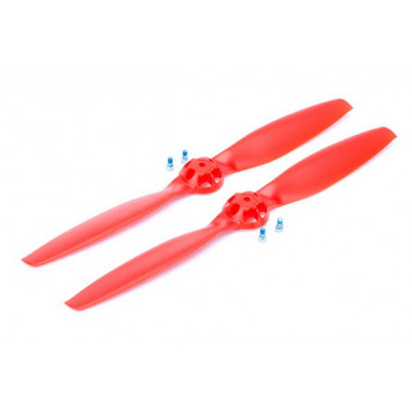 350 QX - Prop CW and CCW Rotation Red (BLH7821B)