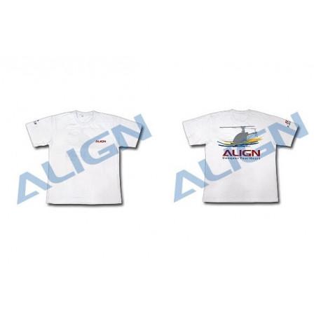 Align Flying T-shirt White Size XL (BG61557-XL)