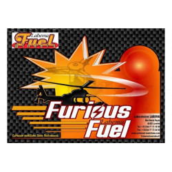 Carburant LABEMA Hélico Furious Fuel 25% nitro 5L (FF25)