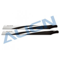 425 Carbon Fiber Blades/ Pales Principale fibre carbone (HD420FT)