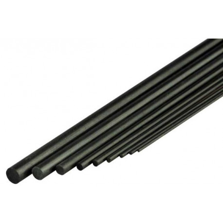 Jonc rond de carbone 6.0 x 1.000mm