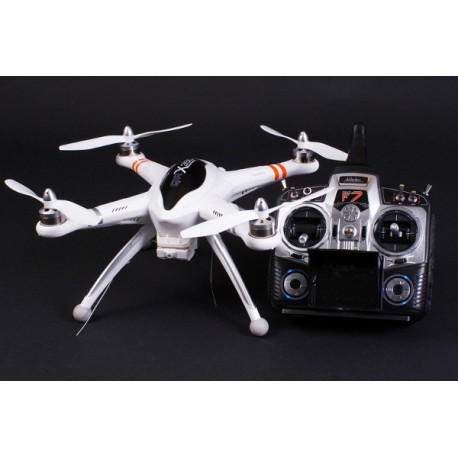 Quadricopter Walkera QR 350X FPV DEVO FPV7(with DVO4/FP convertor) - White (2.4Ghz Mode 2)