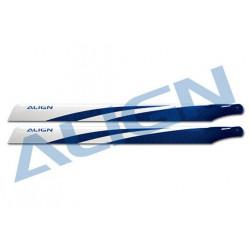 325 Carbon Fiber Blades-Pales 325mm Carbone bleues - Align (HD320FT)