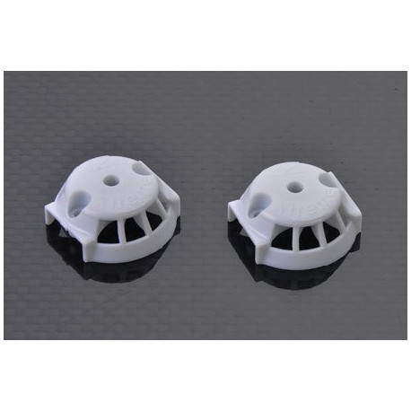 Couvercle / Plastic Cover for carbon blade (1 pair) White - Blade 350QX
