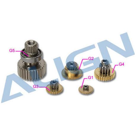 DS525 Align Servo Gear Set (HSP52501T)
