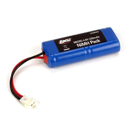 LOSI Accu 4,8V 220Ma : Micro Raly/SCT (LOSB0846)