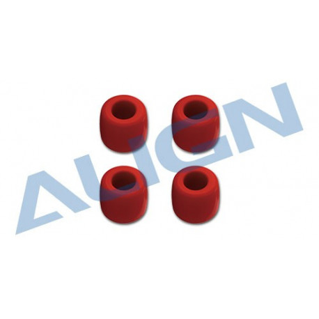 800E Aerial Photography Landing Skid Nut - Red (H80F002XRT)
