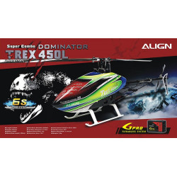 T-REX 450L Dominator Super Combo 6S (RH45E17XT)