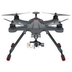 Scout X4 with DEVO F12E, battery, charger, G-3D, Ilook + camera, ground station, Alum case