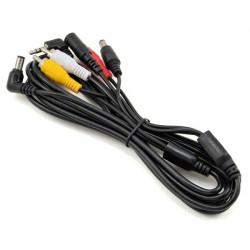 Fat Shark Câble AV universel avec alimentation (FSV1401)