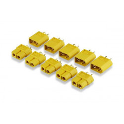 Prise PK YUKI MODEL compatible avec TURNIGY TGY XT60 5 paires (600047)