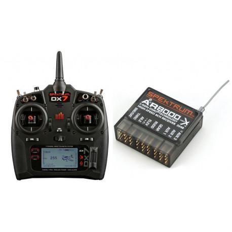 DX7 7 voies avec AR8000, Mode 2 INT'L (SPM7000EU)