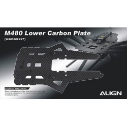 M480 Lower Carbon Plate (M480002XX)