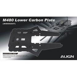 Plaque inferieur de chassis M480 (M480002XX)