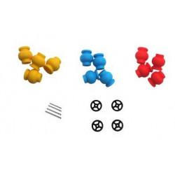 Axes et amortisseurs caoutchouc Bebop (PF070115AA)