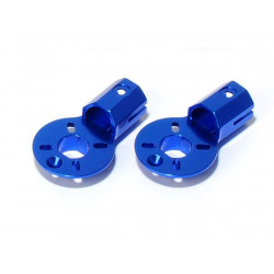 MR200 Aluminium Motor Mount (2 pcs, Blue)
