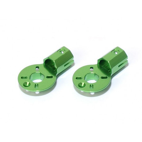 MR200 Aluminium Motor Mount (2 pcs, Green)