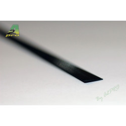 Profilé carbone plat 30.0/3.0mm - 1m (212026)