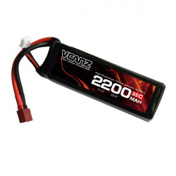 Vcanz Power 35C 2200mah 11.1V 3S Batterie lipo
