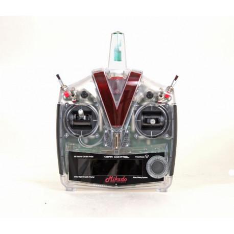 VBar Control Radio with RX-Satellite, transparent (04904)