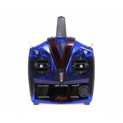 VBar Control Radio, blue transparent (04956)