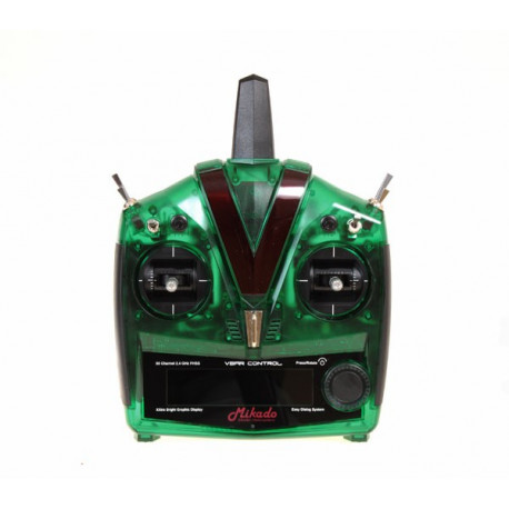 VBar Control Radio, green transparent (04971)