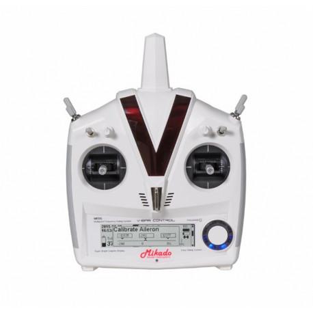 VBar Control Radio with RX-Satellite, white (04982)
