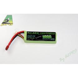 Black Lithium 1800mAh 35C 3S (150 grs)