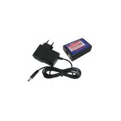Chargeur Lipo 2S/3S avec adaptateur secteur