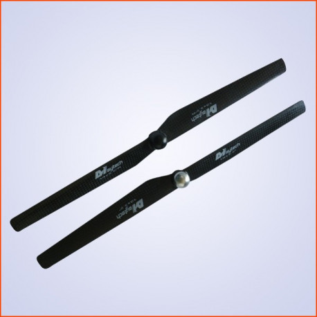 13x3.0 inch CW and CCW in pair With self-tigtening nut M8x1.25mm (MTCP1303Y)