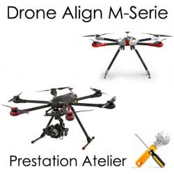 Drone Align Série M Montage, Réglages et Test