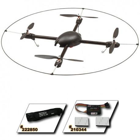 500X Quad Flyer Combo Kit (Mot. ESC.bag. frame & GU-344)