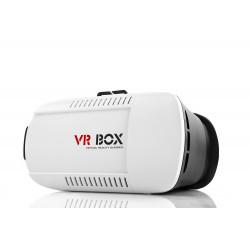 VR BOX - Virtual Reality Glasses White + Remote Control Bluetooth