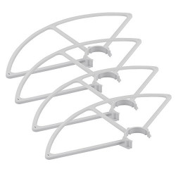 Quick release propeller guards for Yuneec Q500 quadcopter (White)