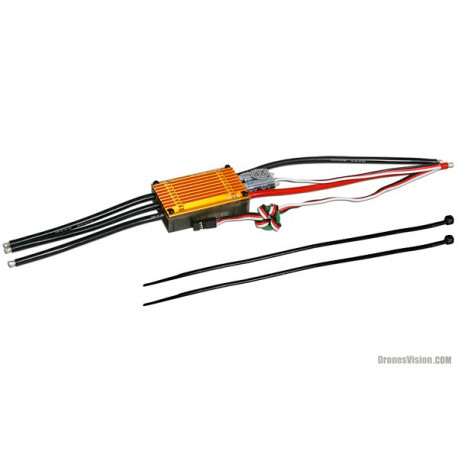 GUEC GE-610 ESC 100A with built-in SBEC (208610)