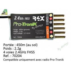 Récepteur R4X Pro-Tronik (70204)