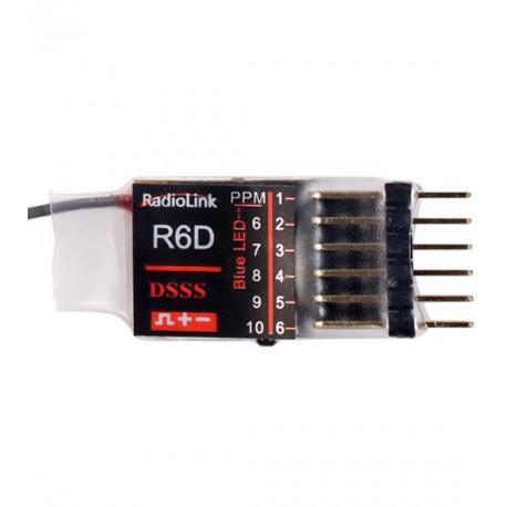 Récepteur KDS R6D 6 voies 2.4GHz