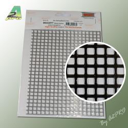 Grille aluminium 200x140x1.20mm maille de 5.00mm (281010)