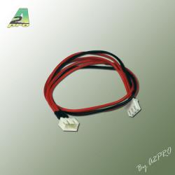 Rallonge 30cm AWG22 JST-XH 2S (10 pcs) (12343-0)