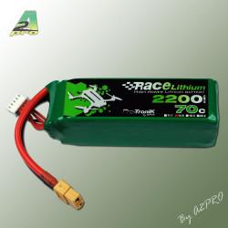 Race Lithium 2200mAh 70C 4S - XT-60 (244grs) (9220743)
