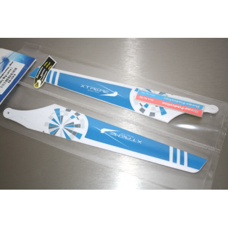 Main Blade-Lower White Blue (Big Lama)