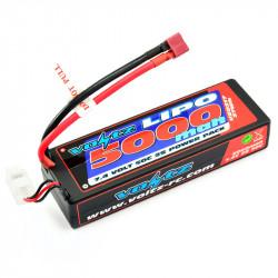VOLTZ 5000mah 2S 7.4V 50C HARD CASE STICK BATTERY PACK