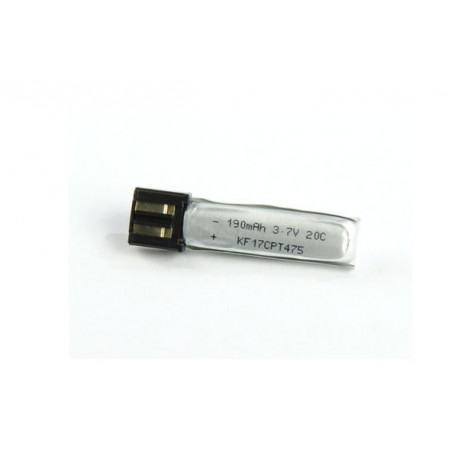 Li-po Battery 3.7v, 190 mah 20C (for T-REX 100S)