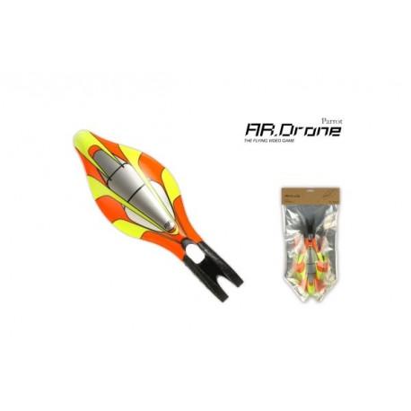 Parrot ARD - Carène extérieure Jaune pour AR Drone (PF070018AA)