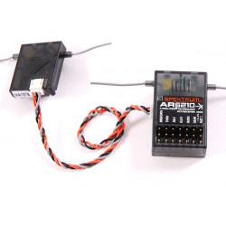 Spektrum AR6210 DSMX Ultralite - 2.4Ghz 6 Channels (SPMAR6210)