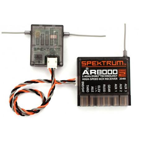 AR8000 DSM2 8-Channel Receiver (SPMAR8000)