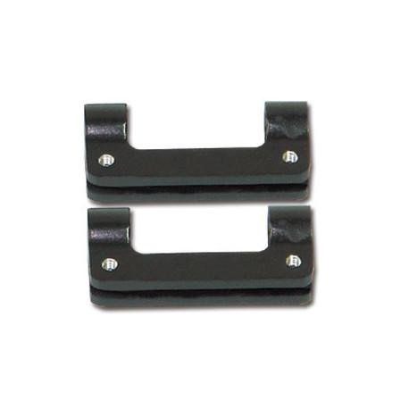 Skid landing locking block