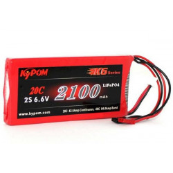KTRX2100HP20-2S--LiFePO4 Receiver and Transmitter battery packs