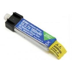 Batterie Li-Po 3.7V 1S 150mAh 25C (EFLB1501S25)
