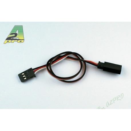 Rallonge 25cm Futaba - câble 0,15mm² (5 pièces) (10029-0)